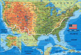 road trip map of usa road travel map major tourist attractions maps