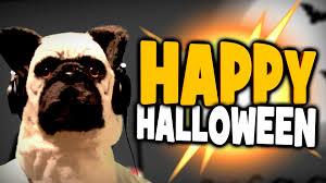 happy halloween funny happy wheels happy halloween pug mask u0026 funny moments youtube