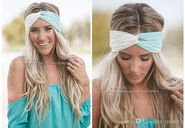 headband wrap twist turban headband for women stretch hairbands sport headbands