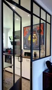 separation de cuisine en verre verrière intérieure 26 photos pour séparer sans cloisonner