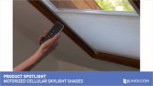 motorized cellular light filtering skylight product spotlight