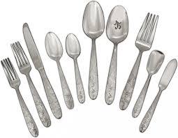 bohemian 45 piece stainless steel flatware set flatware