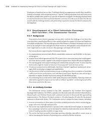 appendix d case studies of passenger rail service developments