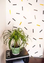 Washi Tape Wall by Diy Oversized Confetti Mural Using Washi Tape U2014 Freckle U0026 Fair