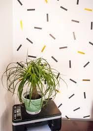washi tape diy diy oversized confetti mural using washi tape u2014 freckle u0026 fair