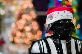 Darth Vader Christmas Tree Topper by Christmas Themed Post With Photos From The Festival Of Trees Dav