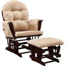 Glider And Ottoman Baby Relax Harbour Glider Rocker And Ottoman Espresso With Beige