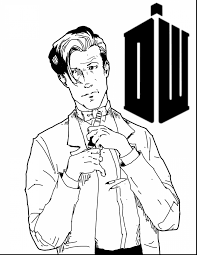 marvelous doctor who line art continue reading with doctor who