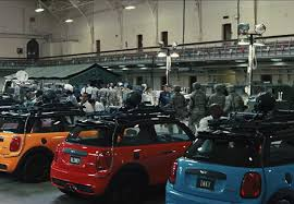 mini cooper s makes the pac man ghost in the upcoming movie