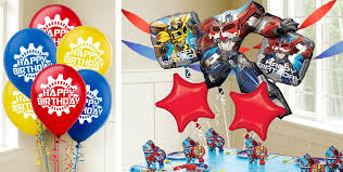 transformers party transformers balloons party city canada