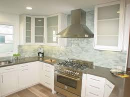 kitchen top ideas impressive subway glass tiles for kitchen top gallery ideas 2798