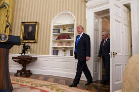Trumps Oval Office by President Trump In Oval Office Summit With Major Us Retailer Ceo U0027s