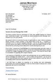 example of cover letter to recruitment agency example good