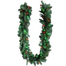 decorative collection 6 ft and green garland dc3 170 6b the