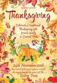 free thanksgiving flyer psd templates styleflyers