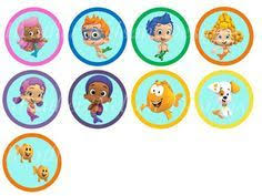 free printable bubble guppies cupcake toppers bubble guppies