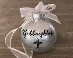 goddaughter ornament goddaughter ornament etsy