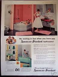 retro colors 1950s furniture ads of the 1950s