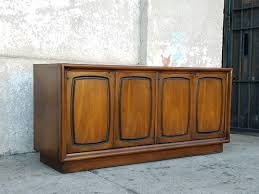 mid century as found vintage 2 sided credenza buffet room divider