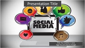 social media powerpoint template 6378 free powerpoint social