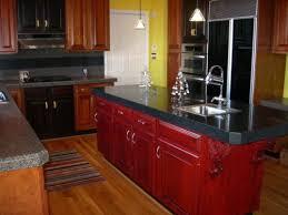 Update Oak Kitchen Cabinets Delightful Contemporary Red Oak Kitchen Cabinet For Red Oak