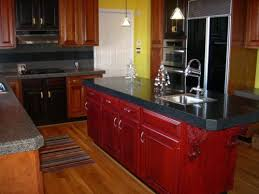 Updating Oak Kitchen Cabinets Delightful Contemporary Red Oak Kitchen Cabinet For Red Oak