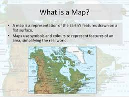what is a map geography of canada geographer s toolkit 1 parts of a map map