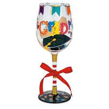 graduation wine glasses i m a grad wine glass by