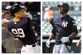 yankees choose aaron judge over aaron hicks here s why nj com
