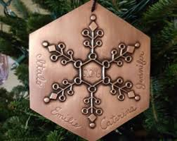 copper ornament etsy