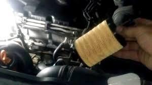 cambio filtro aceite motor vw golf v audi aqui youtube