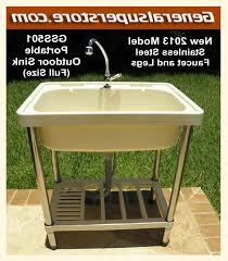 backyard gear outdoor sink water station plus outdoor sink outdoor designs