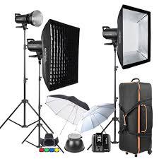 used photography lighting equipment for sale godox sk400 d 3 head lighting kit studio packs heads