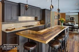 Wood Countertops Kitchen by Kitchen Bar Tops Wood Countertop Butcherblock And Bar Top Blog