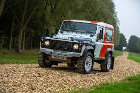 range rover defender 2018 land rover and bowler announce u0027defender challenge u0027 evo