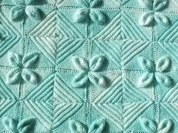free pattern knit baby blanket leaf square baby blanket