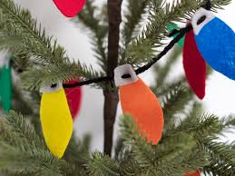 the creative cubby felt christmas lightbulb garland