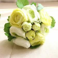 artificial silk flower peony bouquet 9 heads flowers home cafe