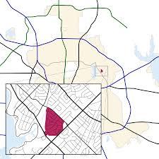 Dallas Neighborhood Map lake park estates dallas wikipedia