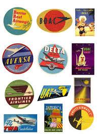 Alaska travel logos images Best 25 vintage airline ideas vintage travel pan jpg