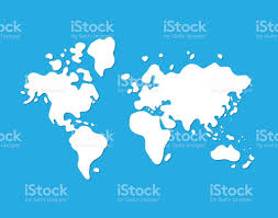 World Map Africa by World Map Icon Stock Vector Art 689404684 Istock