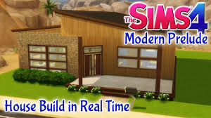 two bed room house the sims 4 house build modern prelude 2 bedroom starter home