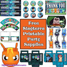 free slugterra party printables and crafts skgaleana
