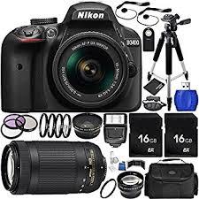 nikon black friday amazon com nikon d3400 dslr camera with 18 55mm and 70 300mm