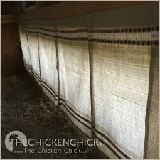 Should Curtains Touch The Floor The Chicken Chicken Nest Box Curtains More Than A Fashion