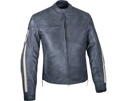 perforated leather motorcycle jacket men s perforated route jacket gray indian motorcycle en ca