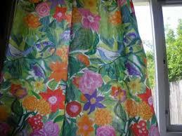 Bird Print Curtain Fabric Fabrics