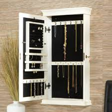 jewelry box wall mounted cabinet small space decorating itty bitty bedrooms jewelry mirror