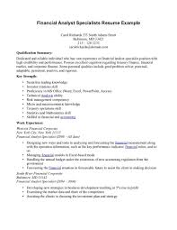 Job Resume Personal Qualities by Credit Risk Business Analyst Resume Free Resume Example And