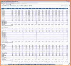 Simple Profit And Loss Excel Template 10 Profit And Loss Spreadsheet Template Free Costs Spreadsheet